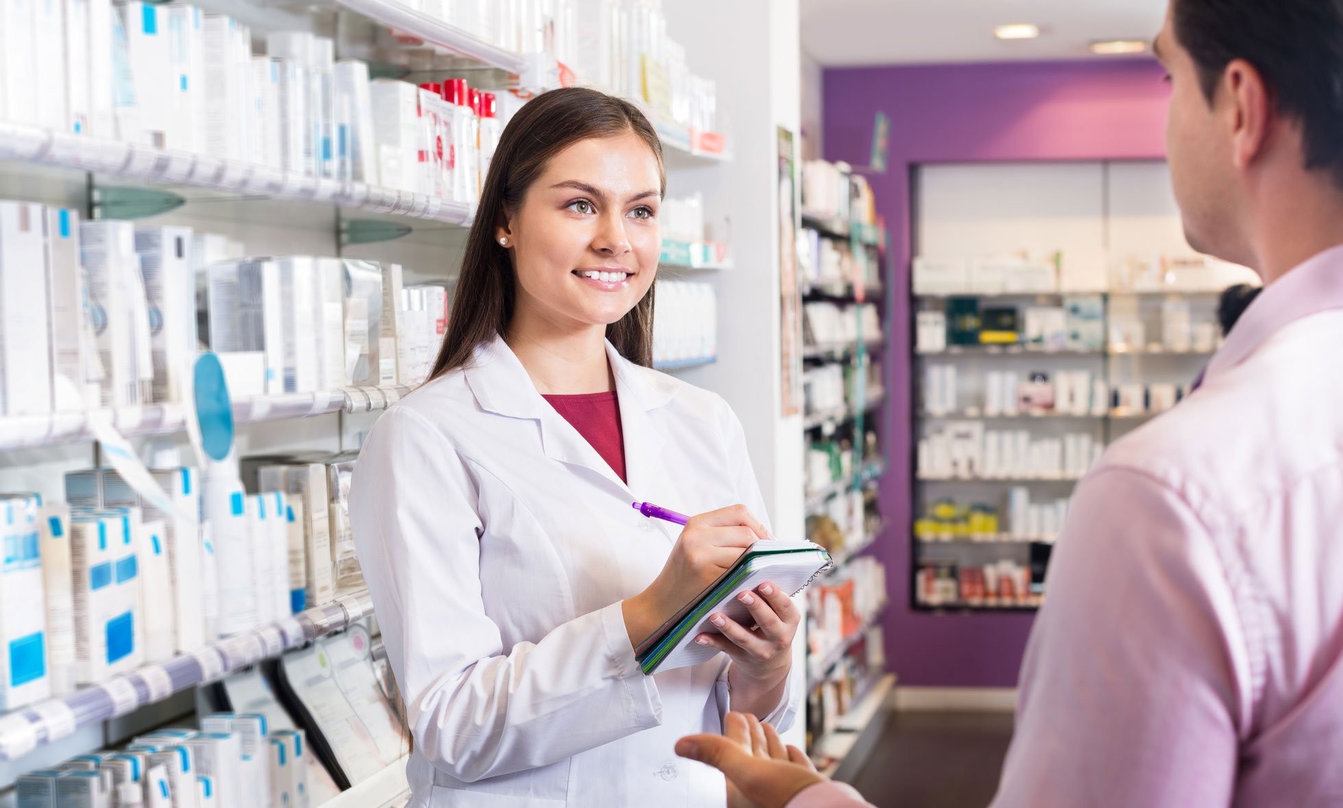 the importance of a pharmacist in the An important situation in which having a pharmacist you can go to is when you might be sick if you're on specific medications, some over-the-counter drugs can interact unfavorably, but a pharmacist can help you pick a good alternative.