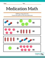 Medication Math Worksheet