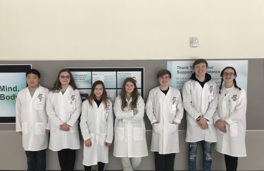 Washington State and North Centeral HS - Innovation Challenge Winners 2019