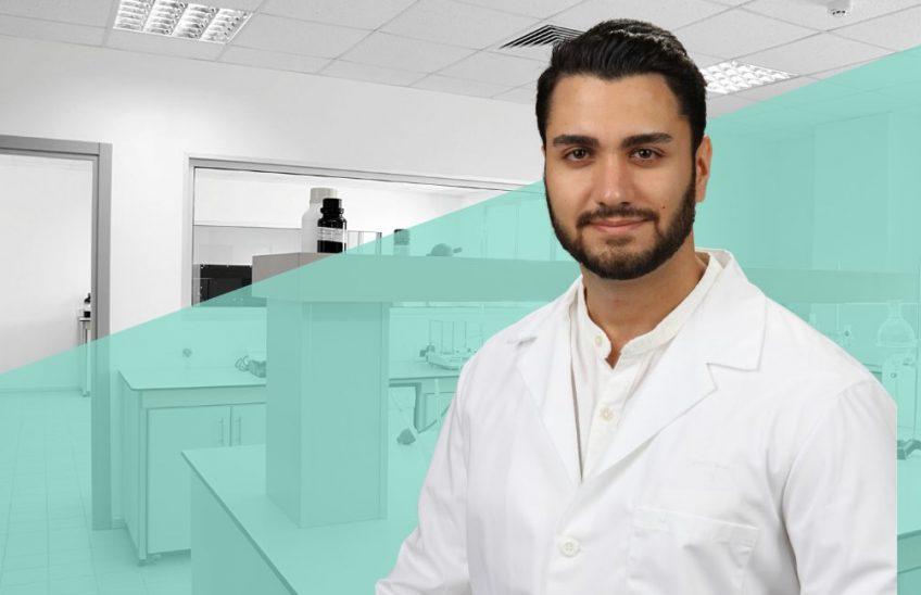 Pharmacy Student Orhan Khalilpour